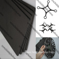 CNC 3k twill matte carbon fiber sheet ukusika sheet