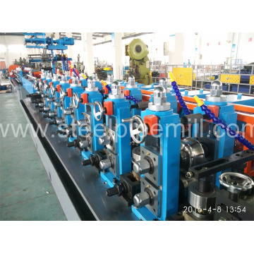 welded oval pipe making machine