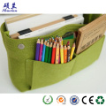 Customized size felt storage bag cosmetic organizer