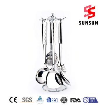 High definition Cheap Price for  Exquisite Stainless steel kitchenware set supply to Finland Importers