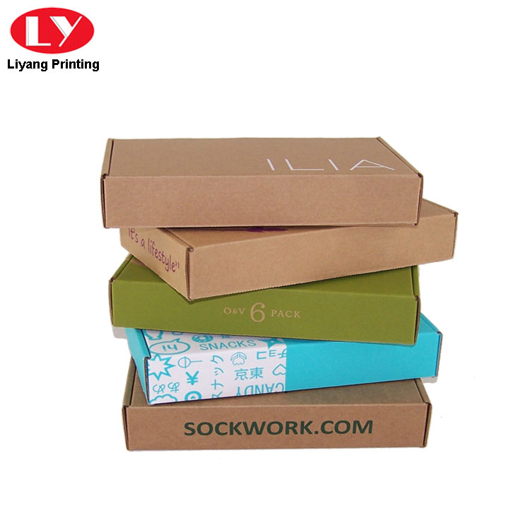 Kraft Paper Shipping Boxes