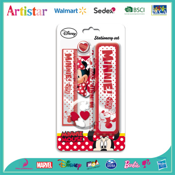 Minnie stationery blister card set