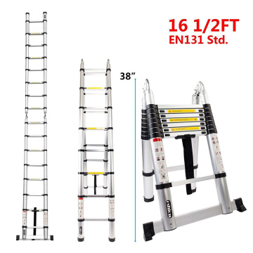 5.6M double telescopic ladder