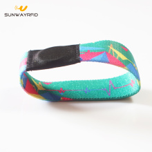 Custom Printing Elastic NFC wristbands with NTAG213