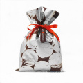 Silver Valentine's Day Gift Wrapping Bag For Lady