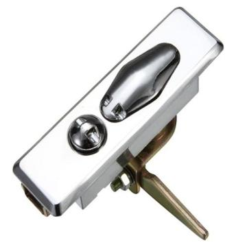 Factory directly for Stainless Steel  Plane Locks Industrial Silvery ZDC Housing Chrome-coating Flat Locks supply to Philippines Wholesale