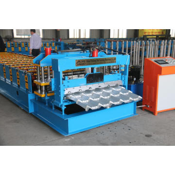ZT steel glazed tile forming machine