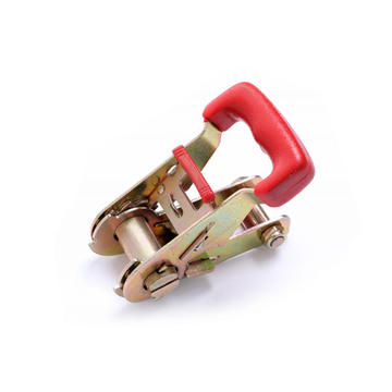 1-1/16 Inch Rubber Coated Handle Ratchet Buckle