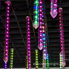 Waterproof DMX RGB vertical led 3D tube light