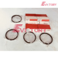 ISUZU engine parts piston 4JH1TC piston ring