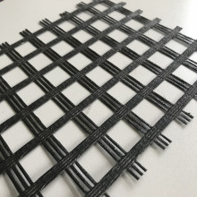 50/50KN Fiberglass Geogrid For Soil Stabilization