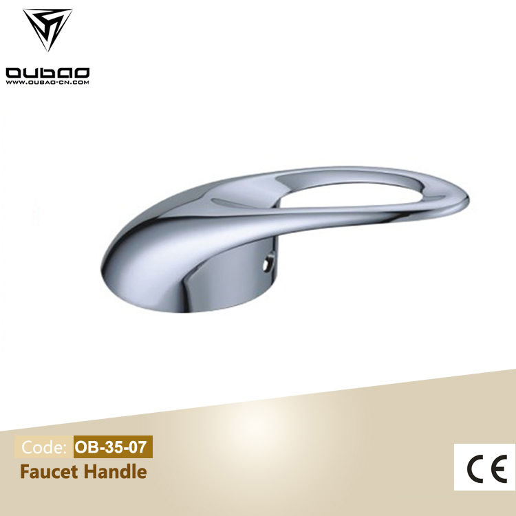 Chrome Zinc Faucet Mixer Lever Handle