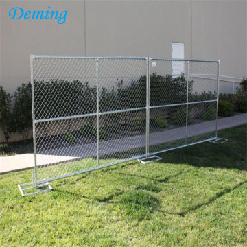 PVC Coated Wire Mesh Galvanised Stadium Fence Gates