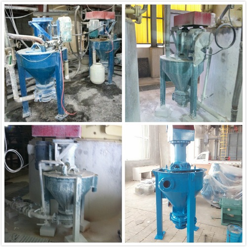 Warman identical pumps