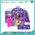 DISNEY PRINCESS license school backpack set