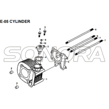 E-05 CYLINDER for XS175T SYMPHONY ST 200i Spare Part Top Quality