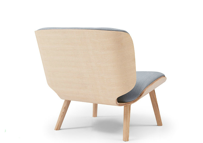 Plywood lounge chair