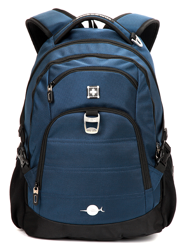 Cray Black And Blue Backpack