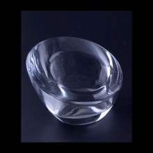 Glass Plain Tealight Candle Holder