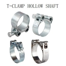 High Quality for China Hose Clamps,Flexible Clamps,Warm Drive Clamps Manufacturer and Supplier T-bolt (with/without Spring) Clamp supply to Italy Wholesale