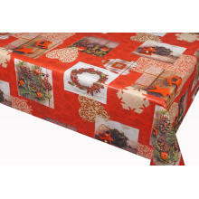 Pvc Printed fitted table covers Runner Pattern