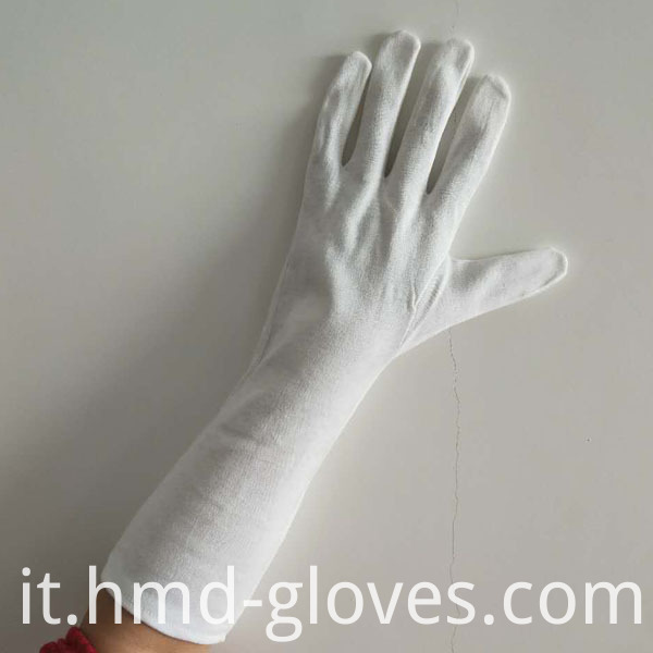 Seamless Reversible Gloves Gants For Nuclear Plant Back