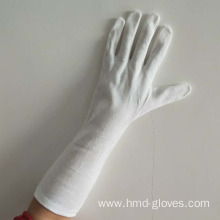 Electronics Assembly White Cotton Gloves