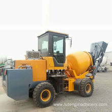 Self-feeding mixer mobile loader