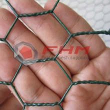 Big Discount for China Vinyl Coated Hexagonal Wire Netting,Vinyl Coated Chicken Wire,Vinyl Coated Poultry Netting Manufacturer Anping Hexagonal Wire Mesh Green and Black export to Japan Wholesale