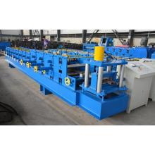 Automatic quick change size c purlin machine