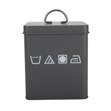Black Coated Laundry Box