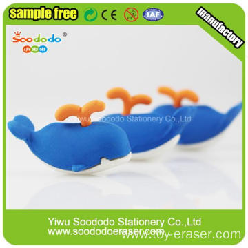 Promotion School 3D Rubber Eraser