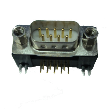 D-SUB PCB Male Dual Row Right Angle10.2mm