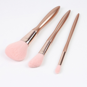 Champion color 3pcs pincel de maquillaje