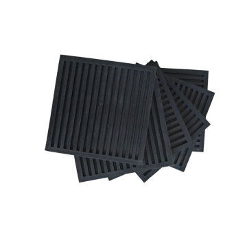 Black Anti Vibration Rubber Pad