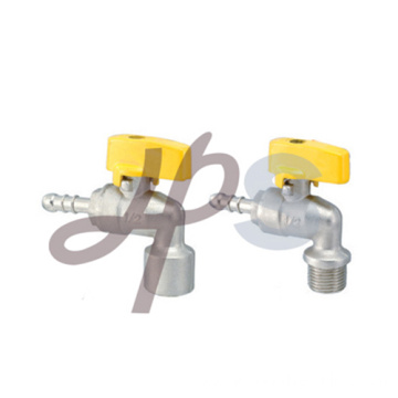 Angle type brass gas valves