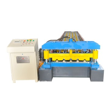 Colored Steel Trapezoidal Roofing Panel Making Machine