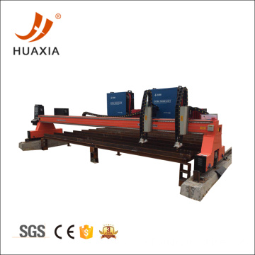 Low price gantry metal plasma cutting machine