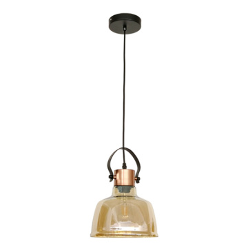 design decorative industrial simple glass pendant lamp
