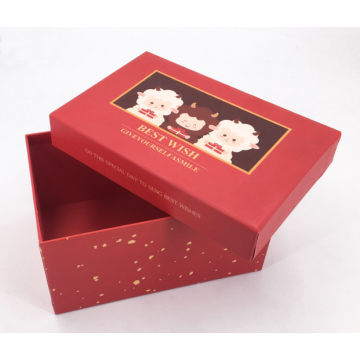 Hot Selling Red Paper Luxury Gift Box