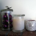 apothecary jar hand-poured soy wax candle