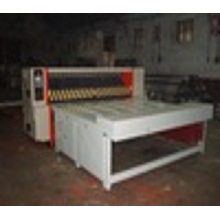 Semi automatic rotary carton box die cutting machine