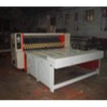 corrugated paperboard chain feed rotary die cutting machine