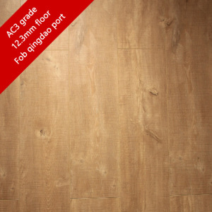 AC4 grade small embossed waterproof laminate flooring