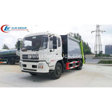 Luxurious type Dongfeng 180hp 12cbm Garbage Compacting Truck
