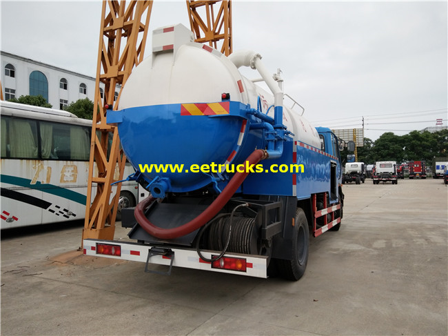 9000L Sewer Suction Trucks