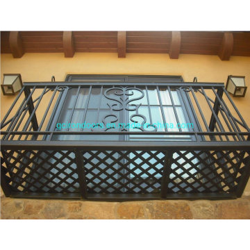 China for Offer Wrought Iron Balcony Railing,Wrought Iron Railings,Iron Railing From China Manufacturer Wrought Iron Balcony and Balustrades export to Russian Federation Exporter