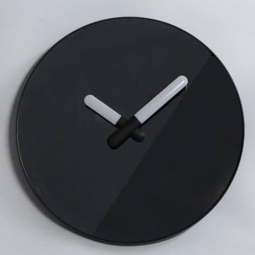 Black Mirror Wall Clock