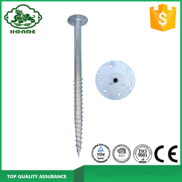 Factory Direct Sale Ground Screw Pole Anchor