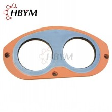 High Quality for Wear Plate And Ring Systems Kyokuto Concrete Pump Spectacle Wear Plate export to Comoros Manufacturer